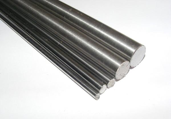 Silberstahl Rundmaterial