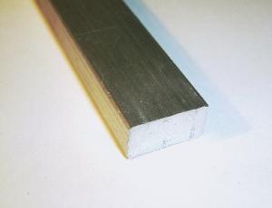 Alu flach  40x15mm L= 200mm