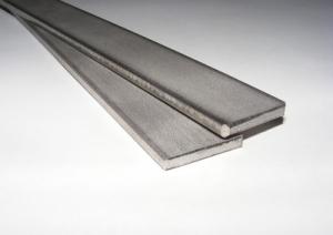 Edelstahl flach  20x 3mm L= 100mm